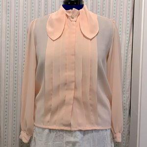 Vintage pink Laura and Jayne blouse